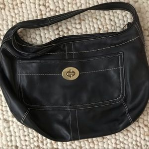 Coach leather XL Ergo hobo lightweight